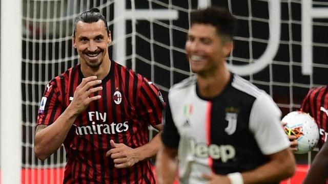 Chơi tâm lý chiến với Ibrahimovic, C.Ronaldo nhận cái kết đắng - 2