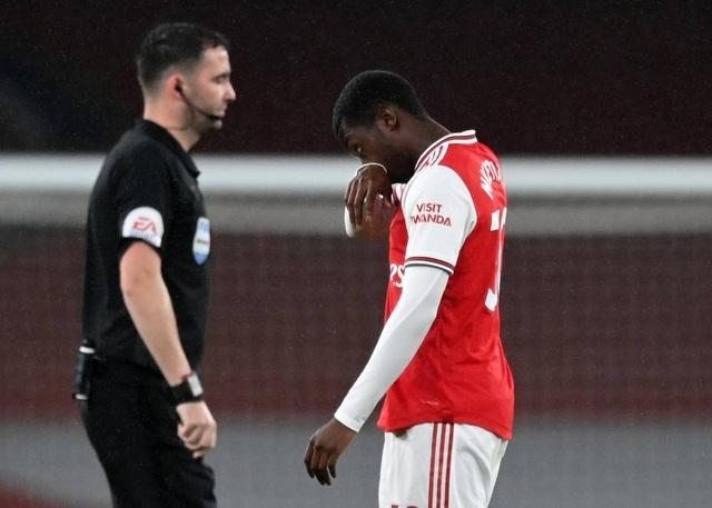 Arsenal 1-1 Leicester: Nketiah bỗng nhiên thành tội đồ - Ảnh minh hoạ 2
