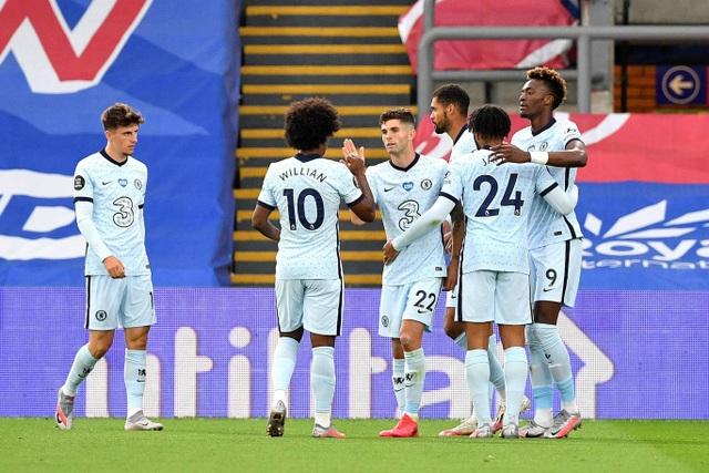 Crystal Palace 2-3 Chelsea: The Blues có vị trí thứ 3 - 1