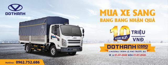 Dothanh IZ650SE  -  Xe tải trang bị nội thất sang như ôtô du lịch - 4