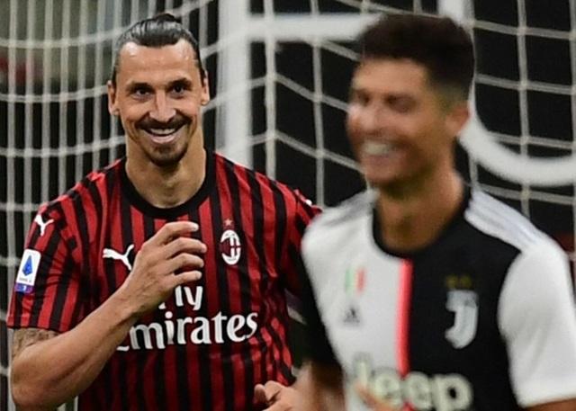 Ronaldo vẫn cười tươi trong ngày Juventus bại trận trước AC Milan - 5