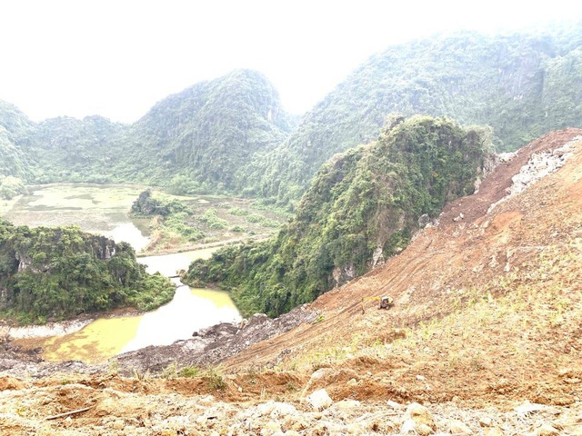 Doanh nghiệp tàn phá hơn 32.000m2 rừng phòng hộ - 1