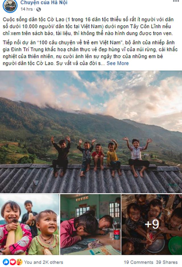 Cuộc sống của trẻ em dân tộc Cờ Lao qua ống kính nhiếp ảnh - 2