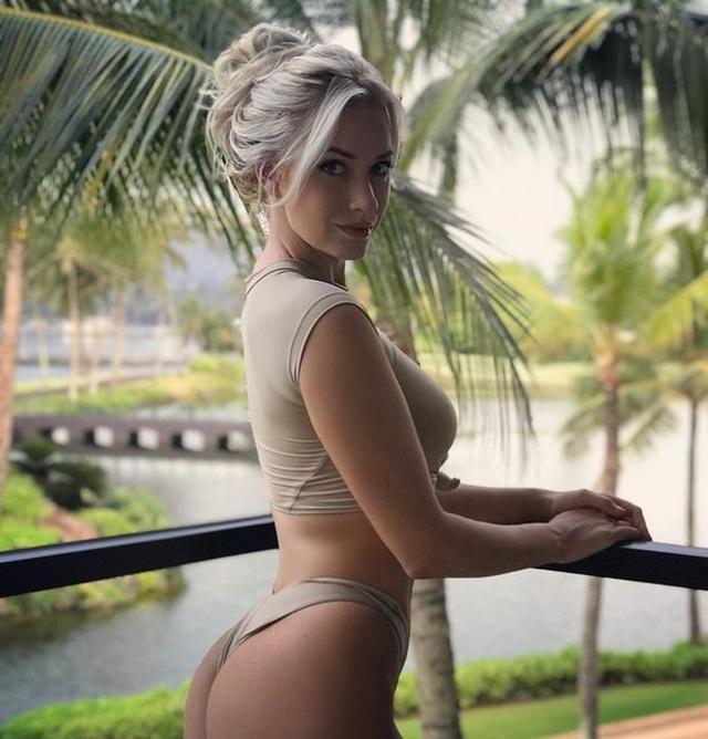 Nữ golf thủ xinh đẹp dũng cảm thừa nhận chuyện gửi ảnh khoả thân - 1