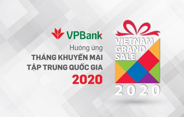 """""""Ăn thỏa thích - Chơi hết mình"""" cho chủ thẻ VPBank trong Vietnam Grand Sale 2020 - 1"""