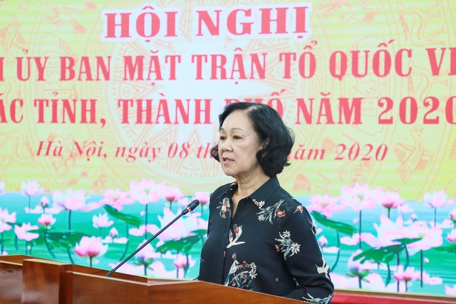 Bộ Chính trị dừng thí điểm Trưởng ban Dân vận kiêm Chủ tịch Mặt trận - 1