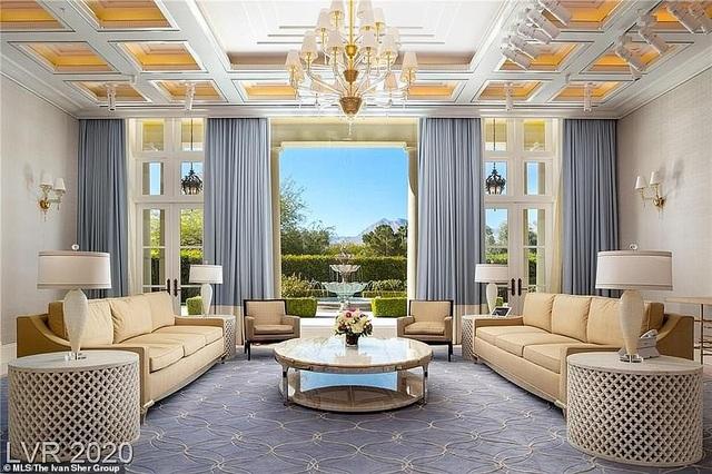 Bên trong biệt thự xa hoa giá 25 triệu USD của ông trùm cờ bạc nước Mỹ - 5