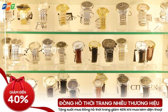 Đồng hồ thời trang giảm đến 40% tại FPT Shop
