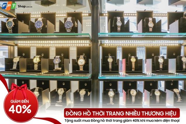 Đồng hồ thời trang giảm đến 40% tại FPT Shop - 2