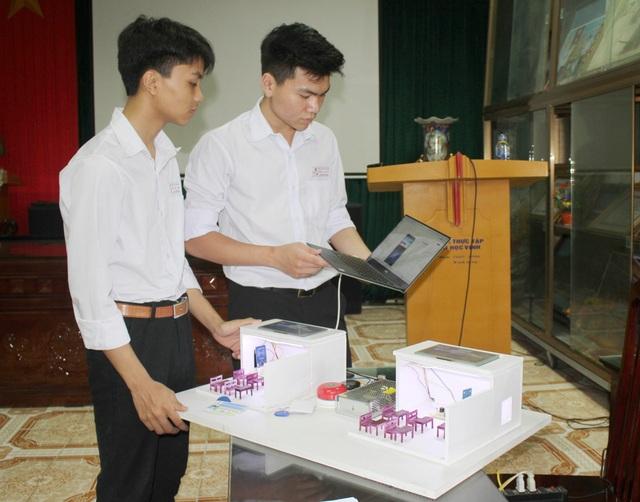 Học sinh Ninh Bình sáng chế Hệ thống quản lý giờ học thông minh - 3