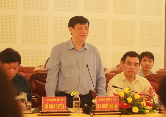 Quyền Bộ trưởng Y tế: Hỗ trợ 11 triệu liều vắc xin ngăn bạch hầu bùng phát - 1