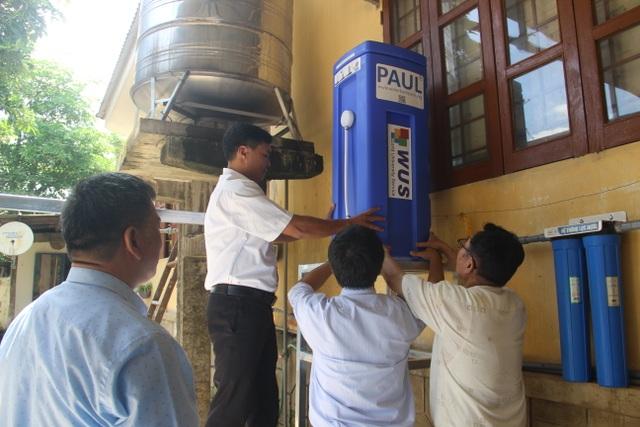 Quảng Trị: Tặng thiết bị lọc nước cho trường học vùng miền núi, biên giới - 4