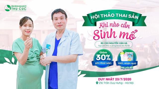 Hội thảo thai sản tại Bệnh viện Thu Cúc - Cơ hội nhận gói đẻ miễn phí - 3
