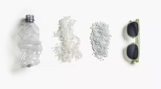 Tái chế chai nhựa qua sử dụng thành... kính râm - 1