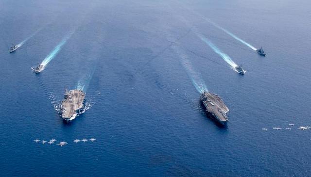 Biện pháp nghiêm ngặt bảo vệ hàng nghìn thủy thủ Mỹ tập trận trên Biển Đông - 1