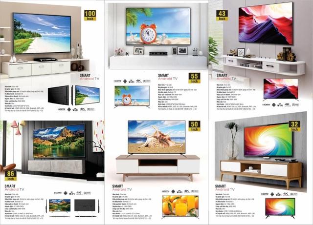 """Thương hiệu 70 tuổi của Nhật """"tấn công"""" thị trường Smart TV Việt Nam - 2"""
