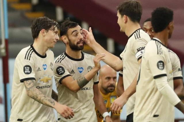 Aston Villa 0-3 Man Utd: Fernandes, Greenwood và Pogba lập công - 1