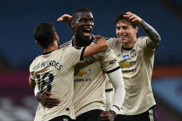Aston Villa 0-3 Man Utd: Fernandes, Greenwood và Pogba lập công - 2