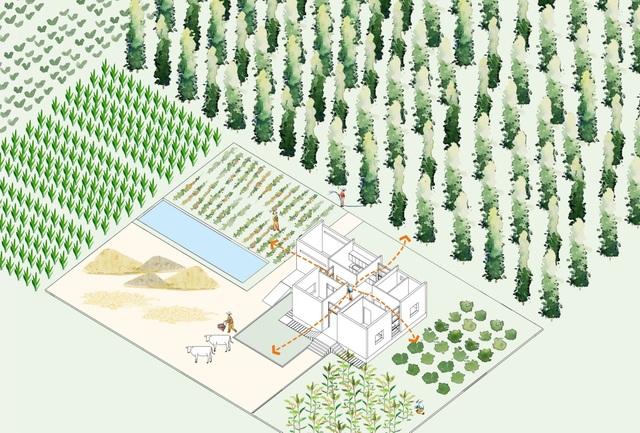 """Nhà vườn rộng 90m2 ở Đồng Nai gây """"sốt"""" vì xây dựng chỉ 500 triệu đồng - 5"""