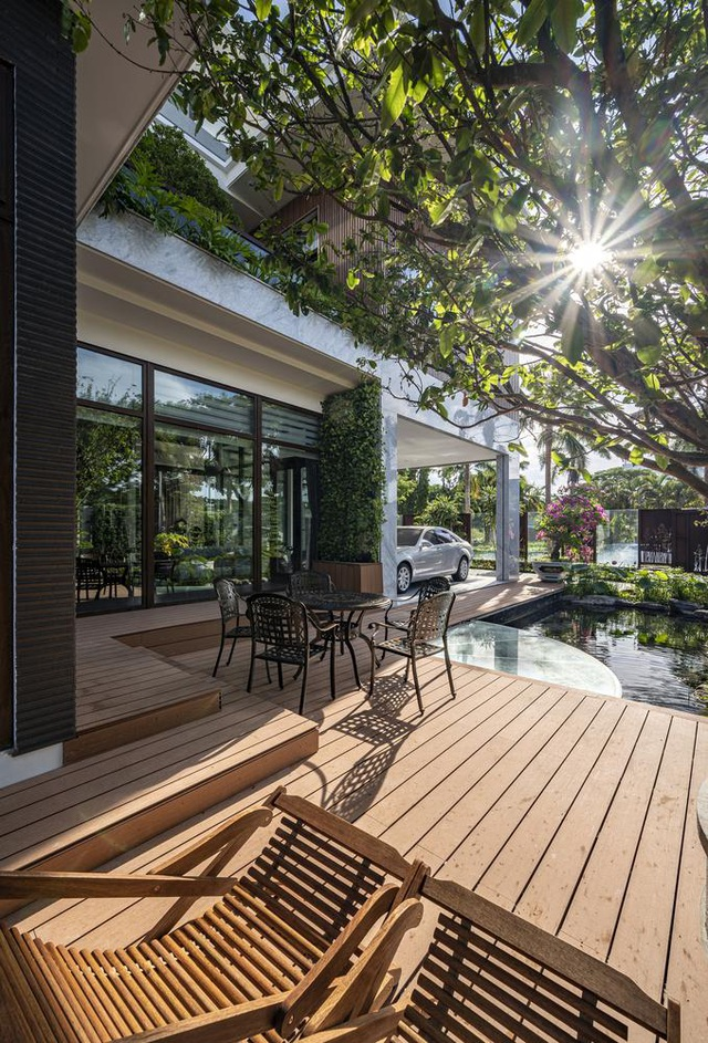 Cuộc sống bình yên trong biệt thự vườn rợp bóng cây xanh ở Cần Thơ - 6