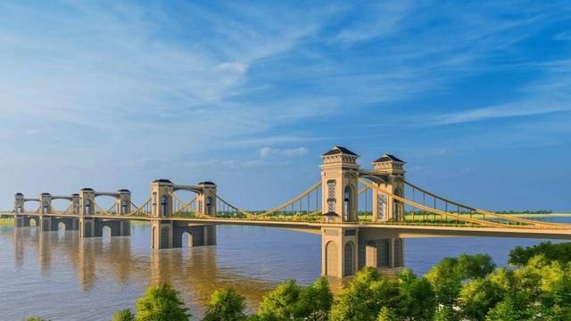 Ngắm cầu Trần Hưng Đạo vượt sông Hồng 9.000 tỷ đồng Hà Nội đang nghiên cứu - 1