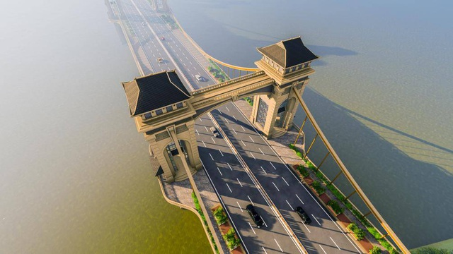 Ngắm cầu Trần Hưng Đạo vượt sông Hồng 9.000 tỷ đồng Hà Nội đang nghiên cứu - 2