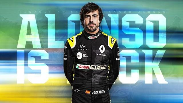 Cựu vương Fernando Alonso sẽ trở lại đường đua F1 - 1