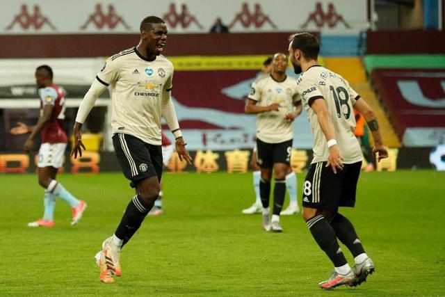 Fernandes xuất sắc nhất trận Man Utd đại thắng Aston Villa - 3
