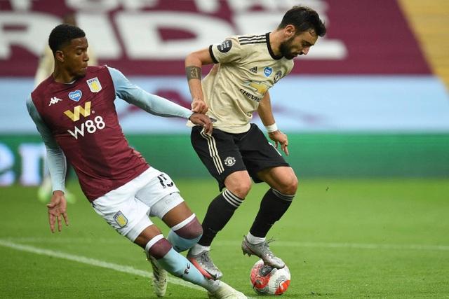 Fernandes xuất sắc nhất trận Man Utd đại thắng Aston Villa - 4