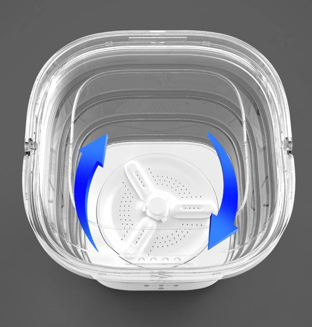Độc đáo chiếc máy giặt cầm tay, có khả năng gấp gọn của Xiaomi - 2