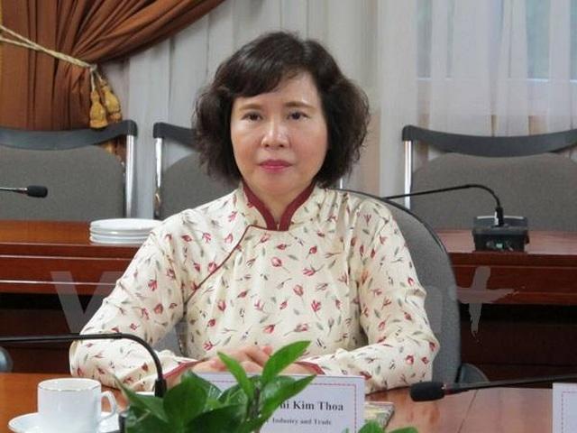 Liên quan tới ông Vũ Huy Hoàng, cựu Thứ trưởng Hồ Thị Kim Thoa bị khởi tố - 1