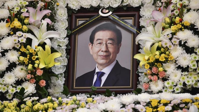 Thư tuyệt mệnh của Thị trưởng Seoul trước cái chết gây sốc - 1