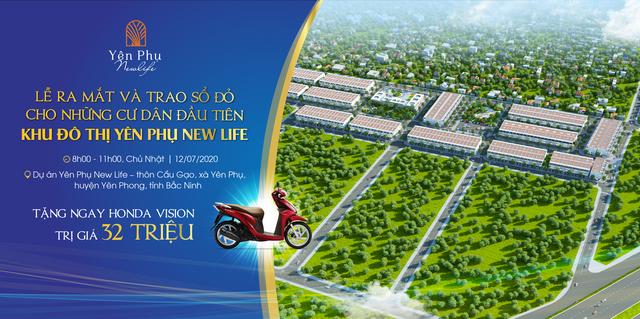 Ra mắt dự án đất nền Yên Phụ New Life – khu đất nền mới nổi tại Bắc Ninh - 1