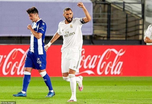 Đánh bại Alaves, Real Madrid tiến gần đến chức vô địch La Liga - 2