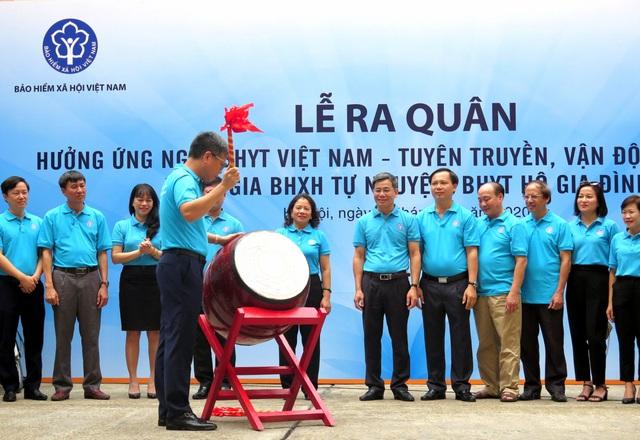 Phát động Lễ ra quân hưởng ứng Ngày BHYT Việt Nam trên toàn quốc - 1