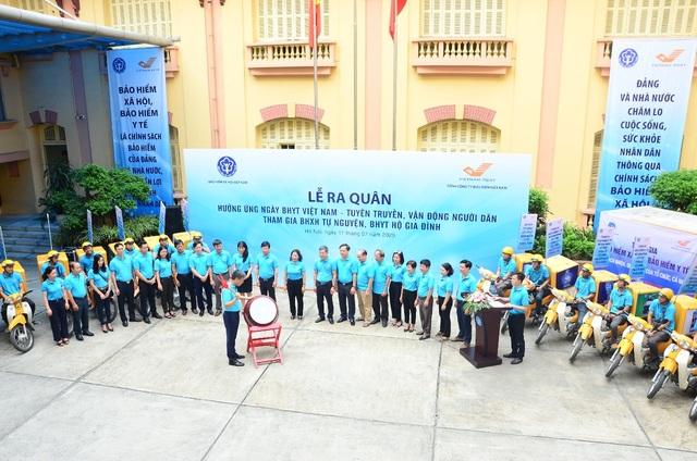 Phát động Lễ ra quân hưởng ứng Ngày BHYT Việt Nam trên toàn quốc - 3