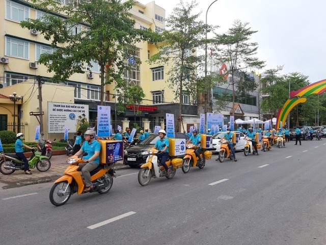 Phát động Lễ ra quân hưởng ứng Ngày BHYT Việt Nam trên toàn quốc - 6