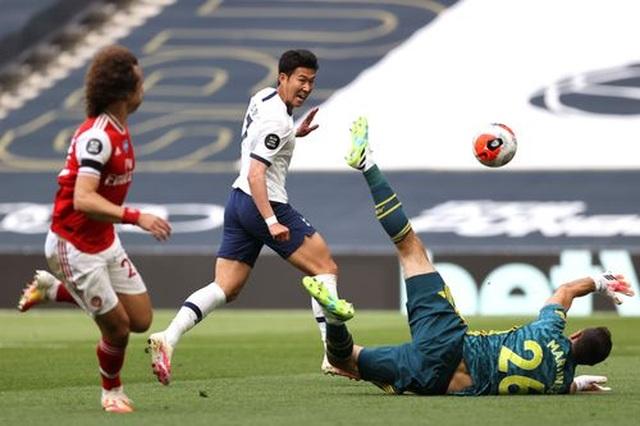 Tottenham 2-1 Arsenal: Thất bại cay đắng của Pháo thủ - 10