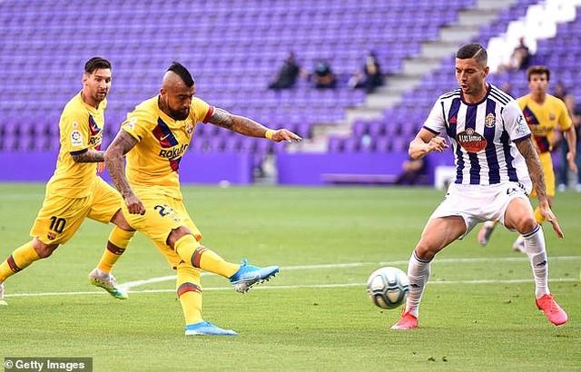 Đánh bại Valladolid, Barcelona tiếp tục gây áp lực lên Real Madrid - 2