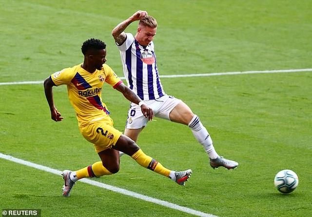 Đánh bại Valladolid, Barcelona tiếp tục gây áp lực lên Real Madrid - 3
