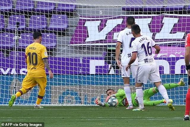 Đánh bại Valladolid, Barcelona tiếp tục gây áp lực lên Real Madrid - 4