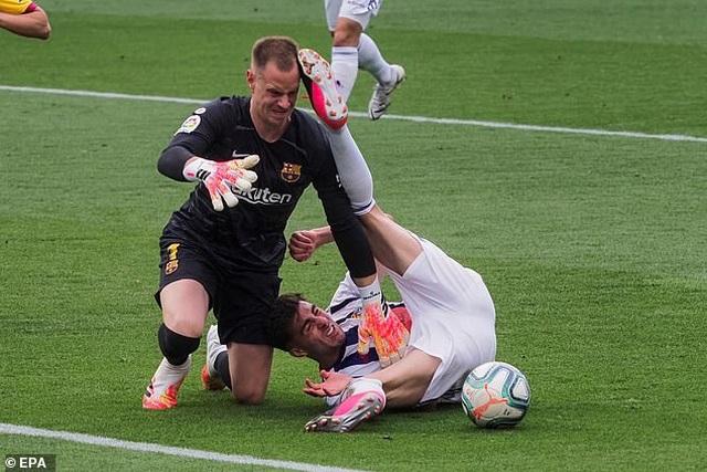 Đánh bại Valladolid, Barcelona tiếp tục gây áp lực lên Real Madrid - 6
