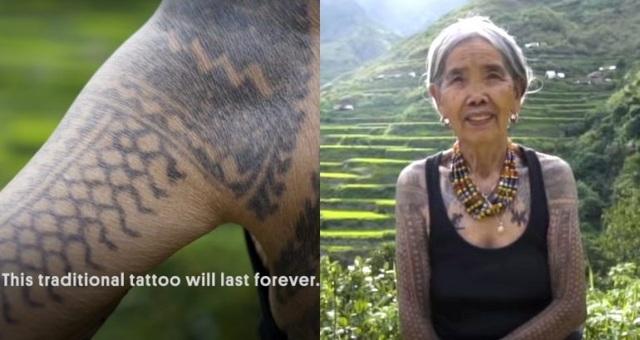 Gặp gỡ cụ bà nghệ nhân xăm hình Philippines 103 tuổi - 1