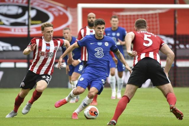 Sheffield Utd 3-0 Chelsea: Trái đắng cho thầy trò Lampard - 2