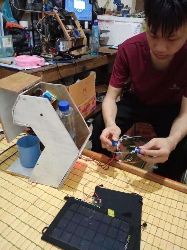 Cánh tay Robot của nam sinh lớp 11 đạt giải Nhất cuộc thi Sáng tạo - 3