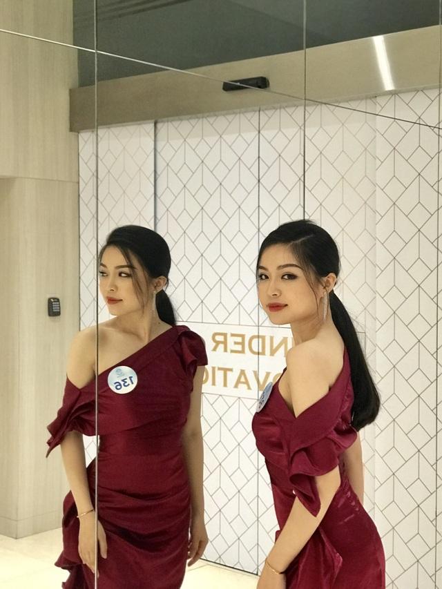 Ngắm vẻ đẹp nữ sinh ngành báo chí từng dự thi tài sắc Việt Nam - 2