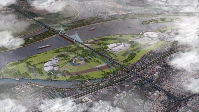 """Cầu Tứ Liên sẽ là biểu tượng mới của """"Thành phố vì hòa bình"""" - 3"""