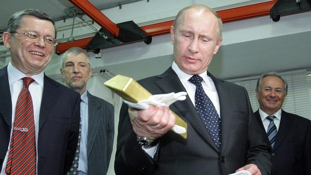 Nga tăng cường mua vàng dự trữ giữa bối cảnh giá tăng vọt - 2