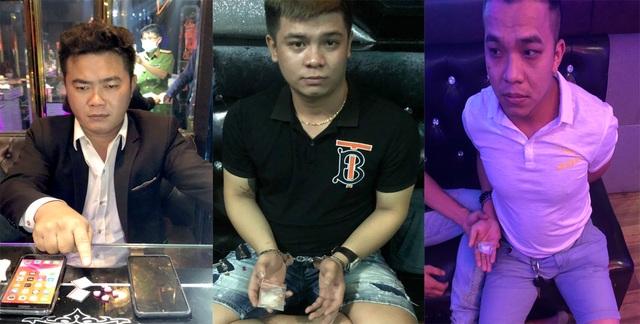 Hàng chục nam nữ dương tính ma túy trong quán karaoke, khách sạn - 1