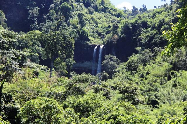Cảnh nhếch nhác, hoang tàn tại thác nước nổi tiếng Đắk Nông - 1